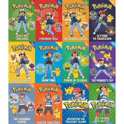 Pokemon Epic Collection: 12 Book Box Set image number 2