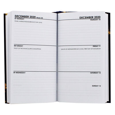 Slim Bees Week to View 2020-21 Academic Diary image number 2