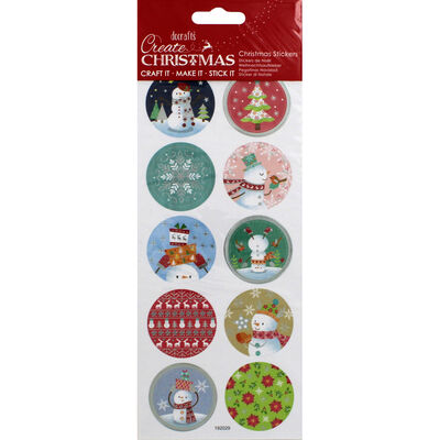 XMA20 Foil Stickers Snowman image number 1