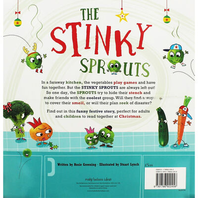 The Stinky Sprouts Smelly Christmas Tale: Pack of 10 Kids Picture Books Bundle image number 3