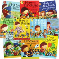 Harry and the Dinosaurs: 10 Kids Picture Books Bundle