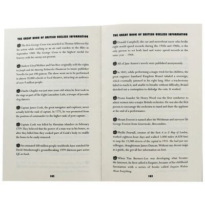 The Great Book of British Useless Information image number 2