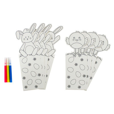Colour Your Own Easter Bookmarks - 8 Pack image number 2