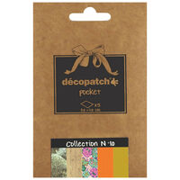 Decopatch Pocket Papers: Collection No.10