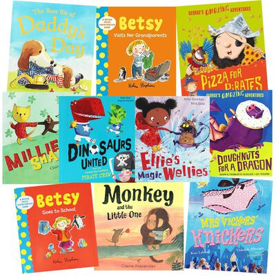 Silly Story Times: 10 Kids Picture Books Bundle image number 1