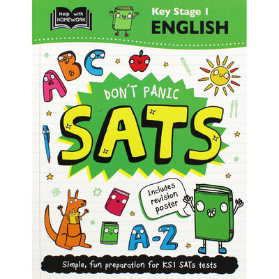 Don't Panic SATs: Key Stage 1 English image number 1
