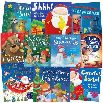 Santa's Sweet Stories: 10 Kids Picture Books Bundle