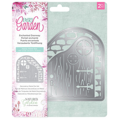 Natures Garden Fairy Garden Metal Die - Enchanted Doorway image number 1