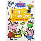 Peppa Pig: Peppa Helps Out Colouring Book image number 1