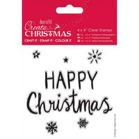 Happy Christmas Clear Stamp
