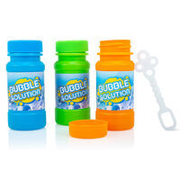 Bubble Bottles and Wands: Pack of 3