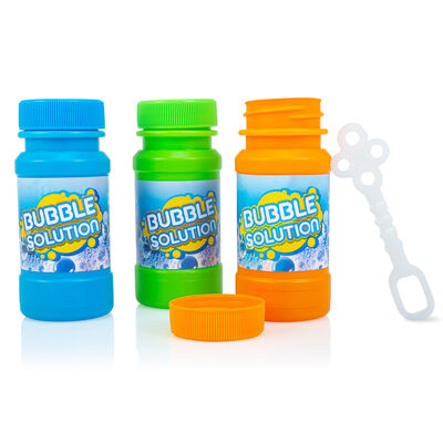 3 Bubble Bottles And Wands image number 2