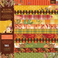 """Crafter's Companion Nature's Garden Autumn Blessings 12""""x12"""" Paper Pad"""