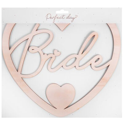 Bride and Groom Chair Signs image number 1