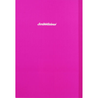 A5 Ombre Gold Pink Glitter Lined Notebook image number 3