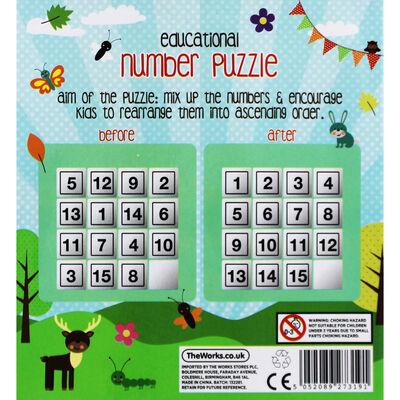 Educational Sliding Number Puzzle image number 3