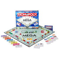 The Mega Edition Monopoly Board Game