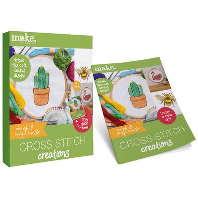 Mini Craft Class: Cross Stitch Creations image number 1