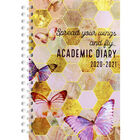 A5 Spread Your Wings Day a Page 2020-21 Academic Diary image number 1