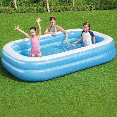 Rectangular Family Paddling Pool image number 3
