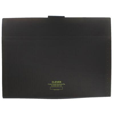 Black 8 Pocket Document Wallet image number 3