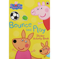 Peppa Pig: Bounce And Play Sticker Activity Book