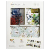 American Crafts: Project Life September Skies 126 Piece Card Kit
