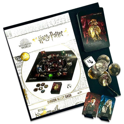Harry Potter Diagon Alley Dash Board Game image number 4