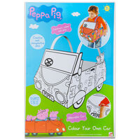 Peppa Pig Colour Your Own Car