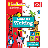 Ready For Writing: Ages 3-5