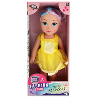 Lovely Princess Doll: Yellow