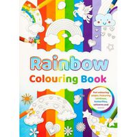 A4 Rainbow Colouring Book