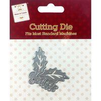 Holly Leaf Metal Cutting Die
