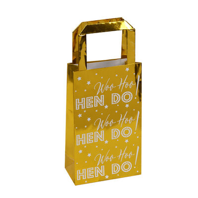 Gold Hen Do Party Bags - 5 Pack image number 2