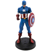 Marvel Fact Files: Captain America Statue