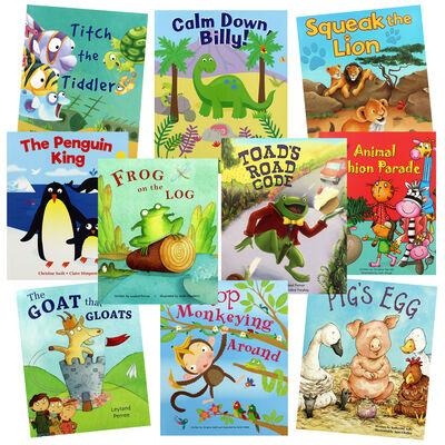 Animal Parade: 10 Kids Picture Books Bundle image number 1