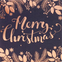 Merry Christmas Cards: Pack Of 10