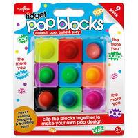Fidget Pop Blocks: Set of 9