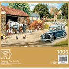 Passing The Smithy 1000 Piece Jigsaw Puzzle image number 3