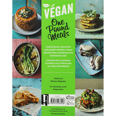 Miguel Barclay's Vegan One Pound Meals image number 3