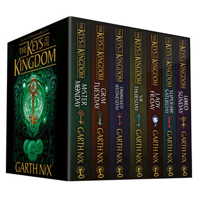 The Keys to the Kingdom: 7 Book Box Set image number 1