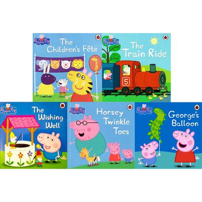 Peppa Pig's Sports Day: 10 Kids Picture Books Bundle image number 2