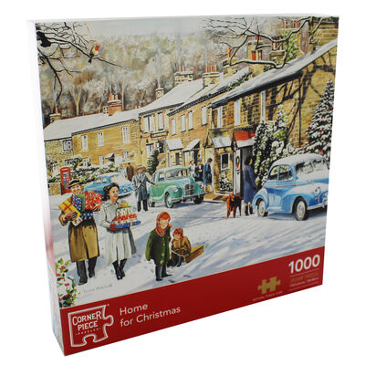 Home For Christmas 1000 Piece Jigsaw Puzzle image number 1