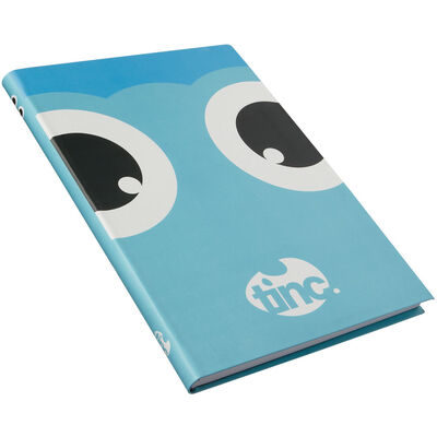 Tinc A5 Blue Tonkin Lined Notebook image number 3