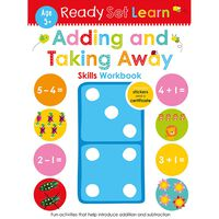 Ready Set Learn: Adding and Taking Away Skills Workbook