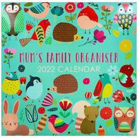 Mum's Family Organiser 2022 Square Calendar