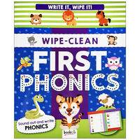 Write It, Wipe It: Phonics Wipe-Clean Book