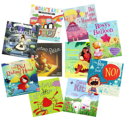 Cheerful Tales - 10 Kids Picture Books Bundle image number 1