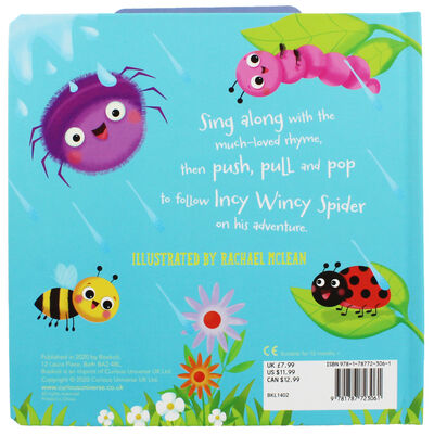 Incy Wincy Spider: Push, Pull and Pop Book image number 4