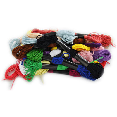 Embroidery Thread: Pack of 30 image number 1